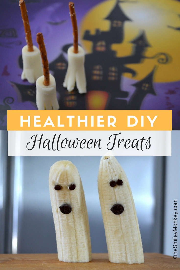 Healthier DIY Halloween Treats