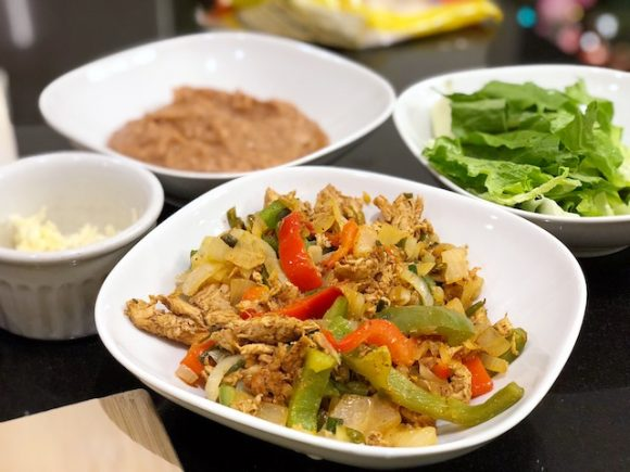 Super Easy Chicken Fajitas Recipe